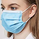 Deutsche Marke Masken Mundschutz,Einwegmasken,Chirugische OP-Masken nach EN 14683 IIR (50 Stück)