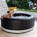 Miweba Premium MSpa Aufblasbarer Whirlpool Outdoor Camaro P-CA069-138 Massagedüsen - Ozongenerator - für 6 Personen - Tüv GS geprüft - 930 Liter - Pool aufblasbar