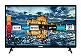 Telefunken XH32J511 32 Zoll Fernseher (Smart TV inkl. Prime Video / Netflix / YouTube, HD ready, Works with Alexa, Triple-Tuner) [Modelljahr 2020]