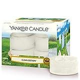 Yankee Candle Duft-Teelichter   Clean Cotton   12 Stück