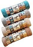 Dolphin & Dog® – Super saugfähiges Hunde-Handtuch – Großes Mikrofaser-Handtuch für Hunde – hervorragende Saugfähigkeit und Weichheit – 130 x 77 cm – Haustier-Handtuch – maschinenwaschbar und trocknergeeignet für Hunde