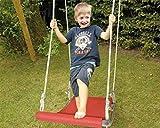 Mehrkindschaukel STARTER rot oder blau für 1-2 Kinder, 105 x 50 cm (rot)