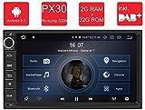 M.I.C. AU7-Lite Android 9 Autoradio Radio Navigationssystem:DAB+ digitalradio Bluetooth WLAN 7 Zoll Bildschirm 2G+32G USB sd GPS 2 DIN universal Tuning Gerät für VW Toyota KIA Nissan Hyundai usw.
