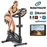 Nautilus Ergometer U628 - 25 Widerstandsstufen - Schwungmasse: 13.5 kg - Nautilus Connect - Soundsystem und integrierter Ventilator - RideSocial kompatibel