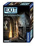 KOSMOS 692872 - EXIT - Das Spiel, Die verbotene Burg, Level: Profis, Escape Room Spiel, für 1 bis 4 Spieler ab 12 Jahren, einmaliges Event-Spiel für Erwachsene und Kinder