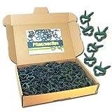 MGS SHOP Pflanzenclips 100 Stück stabile Clips Pflanzenklammern für kleine