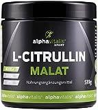L-Citrullin Malat Pulver + Magnesium-Citrat - 539g - vegan - Fitness und Bodybuilding - Beste Rohstoff-Qualität