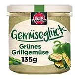 Schwartau Gemüseglück Grünes Grillgemüse, veganer Brotaufstrich, BIO, 6er Pack (6 x 135g)