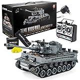 GOODS+GADGETS Ferngesteuerter RC German Tiger I 2.4GHz R/C Panzer 1:16 Modellbau mit Schuss-Funktion, Sound - RTR