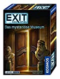 KOSMOS FKS6942270 694227 EXIT Das Spiel, Das mysteriöse Museum, Level: Einsteiger, Escape Room Spiel, für 1 bis 4 Spieler ab 10 Jahren, einmaliges EventSpiel für Erwachsene und Kinder