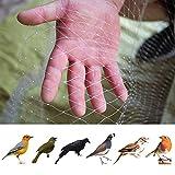 JYCRA Vogelnetz, 4 m x 10 m, Nylon, Gartennetz, Vogelschutznetz, Teichnetz, Pflanzennetz, Obstschutz, Netz, für Haustiere, Nagetiere, Vogelkontrolle.