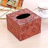 YXYLQ Im Europäischen Stil Wohnzimmer Tissue Box Leder Pumpbox Serviettenbox Restaurant Ktv Papier Pumpbox-Sardelle