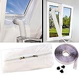 Sichler Haushaltsgeräte Fensterabdichtung Klima: Abluft Fensterabdichtung für mobile Klimageräte, Hot Air Stop (Fensterabdichtung Klimaanlage)