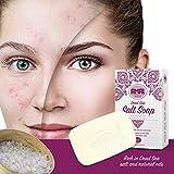 Totes Meer Salz Seife vegane Naturseife für Haut Haare Gesicht Mit Meersalz gegen Akne Pickel Gesichtsreinigung Hautpflege