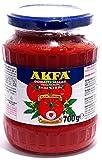 AKFA - 100% Tomatenmark doppelt konzentriert ohne Zusätze im Glas (700g)