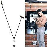 PELLOR Unterarmtrainer Hochwertiger Handgelenktrainer Gewichts Sammlungs Gurt Arm Trainings zum Gewichterollen Eignungs Ausrüstung