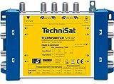 TechniSat TECHNISWITCH 5/8 G2, Multischalter / Verteiler (für bis zu 8 Teilnehmer, 100m Entfernung überbrückbar, inkl. Netzteil)
