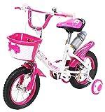 Actionbikes Kinderfahrrad Daisy - 12 Zoll – V-Break Bremse vorne - Stützräder - Luftbereifung - Ab 2-5 Jahren - Jungen & Mädchen – Kinder Fahrrad – Laufrad - BMX – Kinderrad (12`Zoll)