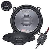 Mac Audio Star Flat 2.13 - ultraflacher 2-Wege Kompo System Einbaulautsprecher, Car HiFi LS:Kompo-130mm