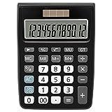 Taschenrechner, Helect Standard-Taschenrechner Tischrechner - Schwarz