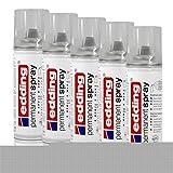 5x edding Permanent Spray Klarlack glänzend 200 ml Acryl-Qualität