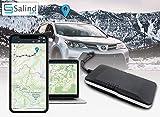 SALIND GPS-Tracker Auto, Motorrad, Fahrzeuge und LKW´s mit Direktanschluss an KFZ-Batterie (12-24V)