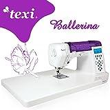 TEXI Ballerina - Computergesteuerte Nähmaschine - 200 Stichmuster