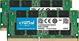 Crucial CT2K16G4SFD8266GB 32GB (16GB x2) Speicher Kit (DDR4, 2666 MT/s, PC4-21300, Dual Rank x8, SODIMM, 260-Pin)