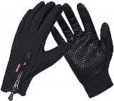 COTOP Touchscreen Handschuhe Winter Winddicht Warme Handschuhe für Radfahren Laufen Klettern Trainingshandschuhe für Outdoor Sports Fitness Ski für Herbst und Frühwinter(M)