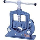 Kanca 60205500003 Rohrschraubstock Aufklappbar für Rohr Durchmesser bis 3 Zoll