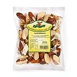Howa Premium Paranusskerne – Paranüsse ungesalzen und naturbelassen – ganze Nüsse – Ideal zum Kochen, Backen oder als gesunder Snack – sehr reich an Selen – 200 g
