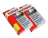 Preisjubel 2 x SONAX Applikationsschwamm, Universal-Schwamm, Polierschwamm, Pflege-Schwamm