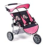 Bayer Chic 2000 697 46 - Zwillings-Jogger, pink checker