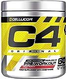 C4 Original - Pre-Workout-Booster - Fruchtpunsch | Getränkepulver für Energy Drink | 150 mg Koffein + Beta-Alanin + Kreatin-Monohydrat | 60 Portionen