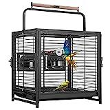 Vivohome Transportkäfig für Vögel, Schmiedeeisen, 48,3 cm