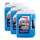 SONAX 3X 02325050 Xtreme AntiFrost+KlarSicht Konzentrat Scheiben Frostschutz 5L
