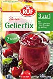 RUF Gelierfix Gelierpulver, 17 mal 2er Pack, (17 x 2 x 25g )