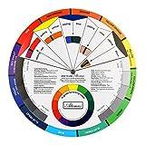 B Baosity Farbmischrad - Farbmischscheibe - Größe: ca. 23.5x23.5x0.1 cm