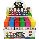 GKA 6 x Sprühkreide Kreidespray Markierungsspray 6 Farben abwaschbar