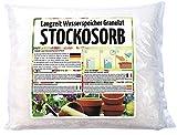 Stockosorb - Wasserspeicher Pflanzen Granulat für über 1200 L Blumenerde - 1 kg