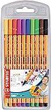 Fineliner - STABILO point 88 - 10er Pack - Standardfarben