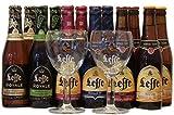 Leffe biergeschenke mit 2 Leffe glas Bierpaket Leffe bier probierpaket 12 x 0,33l + 2 glas