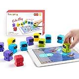 Tangiplay Kids Coding Spielzeug Montessori Lernspiele, STEAM Programmierbarer Roboter, Spielerisch Programmieren, Logik und Kreativität Traning beim BAU für Alter 4-12+ Kinder
