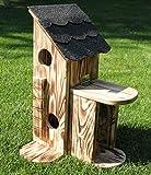 Garten und Holztrends Eichhörnchenfutterhaus-Bausatz-(Ei-Haus3)-Eichhörnchenhaus-Eichhörnchenkobel-Eichhörnchen
