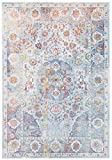 CarpetFine: Vintage Heaven Teppich 140x200 cm Blau - Ornament