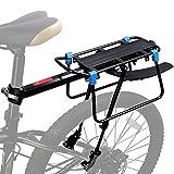 WESTGIRL Gepäckträger Fahrrad hinten, Schnellspanner Fahrrad Gepäck Cargo Rack mit Fender Verstellbares Fahrrad-Gepäckträger-Gestell Laden 50 KG