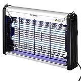 Monzana Insektenvernichter elektrisch UV LED Insektenfalle Mückenlampe Fliegenfänger 25m² inkl. Kettenaufhängung