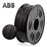 ABS 3D Drucker Filament, 1,75 mm ABS Filament 1 kg (2,2 lbs), Schwarz