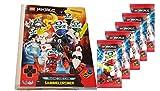 Blue Ocean Lego Ninjago - Serie 5 Trading Cards - 1 Leere Sammelmappe + 5 Booster