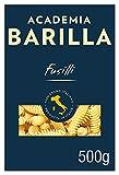 Barilla Academia Hartweizen Pasta, Fusilli, 500g
